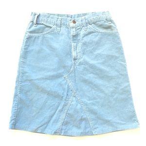 70s Levis Corduroy Skirt